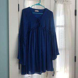 Blue Altar'd State Dress